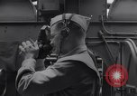 Image of navigator with sextant Pacific Ocean, 1942, second 4 stock footage video 65675035342