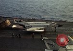 Image of F 4J plane Gulf of Tonkin Vietnam, 1970, second 9 stock footage video 65675035359