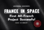 Image of space rocket Algeria, 1966, second 1 stock footage video 65675035363