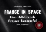 Image of space rocket Algeria, 1966, second 5 stock footage video 65675035363
