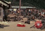 Image of US Marines Daila Pass Combat Base Vietnam, 1968, second 4 stock footage video 65675035397