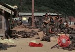 Image of US Marines Daila Pass Combat Base Vietnam, 1968, second 9 stock footage video 65675035397