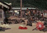 Image of US Marines Daila Pass Combat Base Vietnam, 1968, second 10 stock footage video 65675035397
