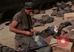 Image of US Marines Daila Pass Combat Base Vietnam, 1968, second 12 stock footage video 65675035397