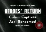 Image of Cuban prisoners Miami Florida USA, 1962, second 1 stock footage video 65675035412