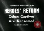 Image of Cuban prisoners Miami Florida USA, 1962, second 2 stock footage video 65675035412