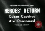Image of Cuban prisoners Miami Florida USA, 1962, second 3 stock footage video 65675035412