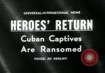 Image of Cuban prisoners Miami Florida USA, 1962, second 5 stock footage video 65675035412
