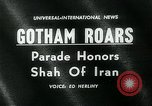 Image of Shah of Iran New York City USA, 1962, second 1 stock footage video 65675035413