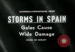 Image of high speed winds Donostia-San Sebastián Spain, 1962, second 4 stock footage video 65675035414