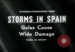 Image of high speed winds Donostia-San Sebastián Spain, 1962, second 5 stock footage video 65675035414
