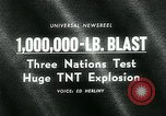 Image of TNT explosion Alberta Canada, 1964, second 3 stock footage video 65675035418
