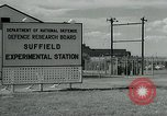 Image of TNT explosion Alberta Canada, 1964, second 8 stock footage video 65675035418