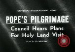 Image of Pope Paul VI Vatican City Rome Italy, 1963, second 2 stock footage video 65675035424