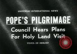 Image of Pope Paul VI Vatican City Rome Italy, 1963, second 3 stock footage video 65675035424