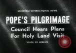 Image of Pope Paul VI Vatican City Rome Italy, 1963, second 4 stock footage video 65675035424