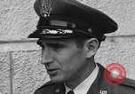 Image of Colonel Dean Hess Ohio United States USA, 1956, second 11 stock footage video 65675035436