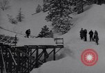 Image of skiing Leavenworth Washington USA, 1956, second 10 stock footage video 65675035439