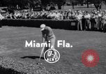 Image of Lou Kretlow Miami Florida USA, 1956, second 4 stock footage video 65675035441