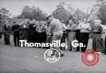 Image of Dwight D Eisenhower Thomasville Georgia USA, 1956, second 1 stock footage video 65675035442