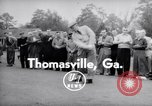 Image of Dwight D Eisenhower Thomasville Georgia USA, 1956, second 2 stock footage video 65675035442