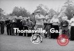 Image of Dwight D Eisenhower Thomasville Georgia USA, 1956, second 3 stock footage video 65675035442