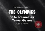 Image of Olympics Games Tokyo Japan, 1964, second 2 stock footage video 65675035463