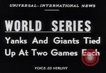 Image of World Series NY Yankees vs NY Giants New York City USA, 1951, second 3 stock footage video 65675035474