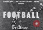 Image of American football Columbus Ohio USA, 1951, second 1 stock footage video 65675035475