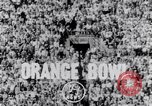 Image of Orange Bowl football game Miami Florida USA, 1953, second 3 stock footage video 65675035490