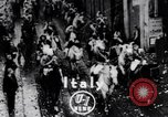 Image of Orange throwing festival Turin Italy, 1952, second 1 stock footage video 65675035494
