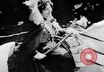 Image of Orange throwing festival Turin Italy, 1952, second 7 stock footage video 65675035494