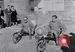 Image of armchair bicycles Italy, 1952, second 7 stock footage video 65675035495