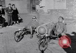 Image of armchair bicycles Italy, 1952, second 8 stock footage video 65675035495