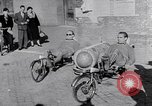 Image of armchair bicycles Italy, 1952, second 9 stock footage video 65675035495