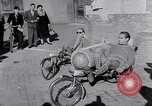 Image of armchair bicycles Italy, 1952, second 10 stock footage video 65675035495