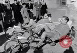 Image of armchair bicycles Italy, 1952, second 12 stock footage video 65675035495
