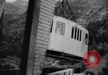 Image of World' highest cable car begins operation in French Alps Chamonix France, 1955, second 12 stock footage video 65675035505