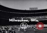 Image of All Star Baseball Game Milwaukee Wisconsin USA, 1955, second 1 stock footage video 65675035508