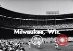 Image of All Star Baseball Game Milwaukee Wisconsin USA, 1955, second 3 stock footage video 65675035508