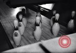 Image of bowling Rochester New York USA, 1956, second 9 stock footage video 65675035514