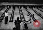 Image of bowling Rochester New York USA, 1956, second 11 stock footage video 65675035514