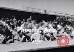 Image of New York Giants Baseball Team in Spring Training Phoenix Arizona USA, 1956, second 1 stock footage video 65675035516