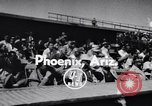 Image of New York Giants Baseball Team in Spring Training Phoenix Arizona USA, 1956, second 2 stock footage video 65675035516