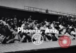 Image of New York Giants Baseball Team in Spring Training Phoenix Arizona USA, 1956, second 3 stock footage video 65675035516