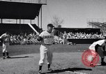 Image of New York Giants Baseball Team in Spring Training Phoenix Arizona USA, 1956, second 4 stock footage video 65675035516