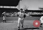 Image of New York Giants Baseball Team in Spring Training Phoenix Arizona USA, 1956, second 5 stock footage video 65675035516