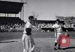 Image of New York Giants Baseball Team in Spring Training Phoenix Arizona USA, 1956, second 7 stock footage video 65675035516