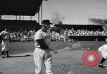 Image of New York Giants Baseball Team in Spring Training Phoenix Arizona USA, 1956, second 10 stock footage video 65675035516