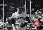 Image of New York Giants Baseball Team in Spring Training Phoenix Arizona USA, 1956, second 11 stock footage video 65675035516